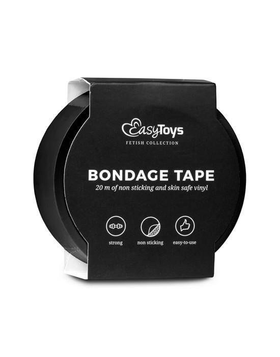 Black Bondage Tape 20 m