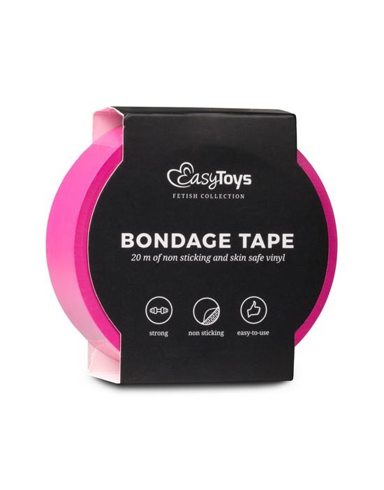 Hot Pink Bondage Tape 20 m