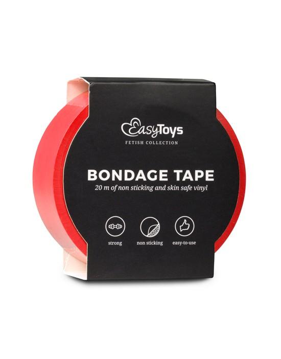 Red Bondage Tape 20 m