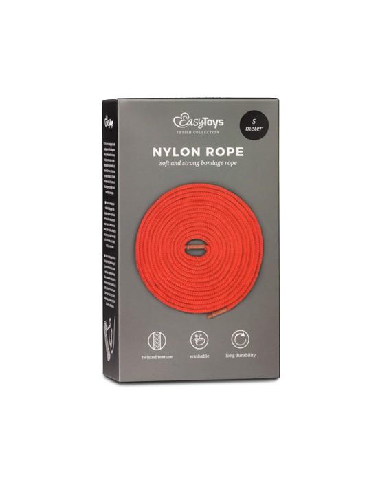 Red Bondage Rope - 5m