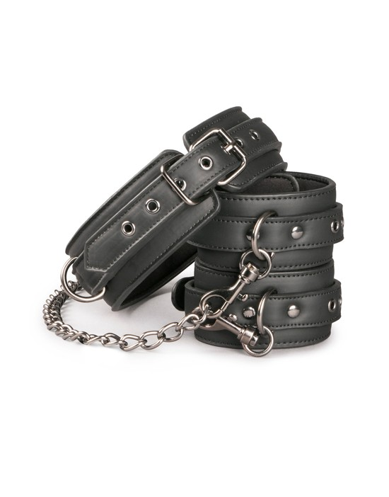 Leather Collar With Anklecuff