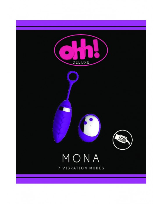Mona USB-vibrating egg +...