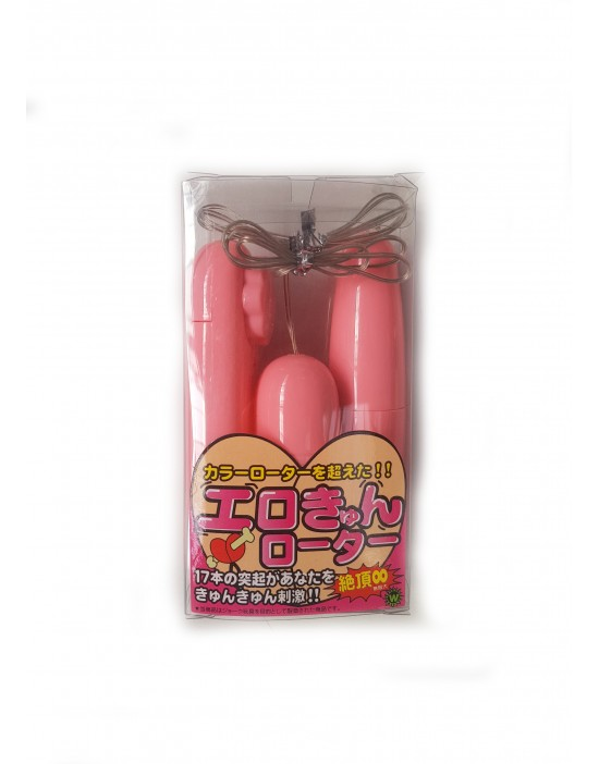 Wibrator kulki duo pink