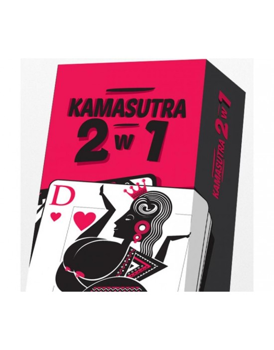 Gra Karciana KAMASUTRA 2w1