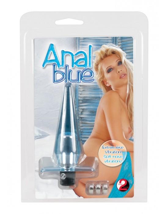 5604300000 Anal Blue-Wibrator