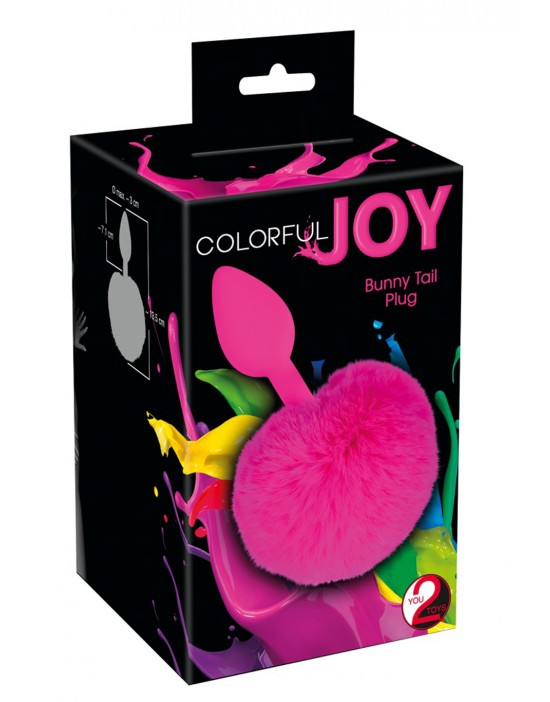 Colorful Joy Bunny T