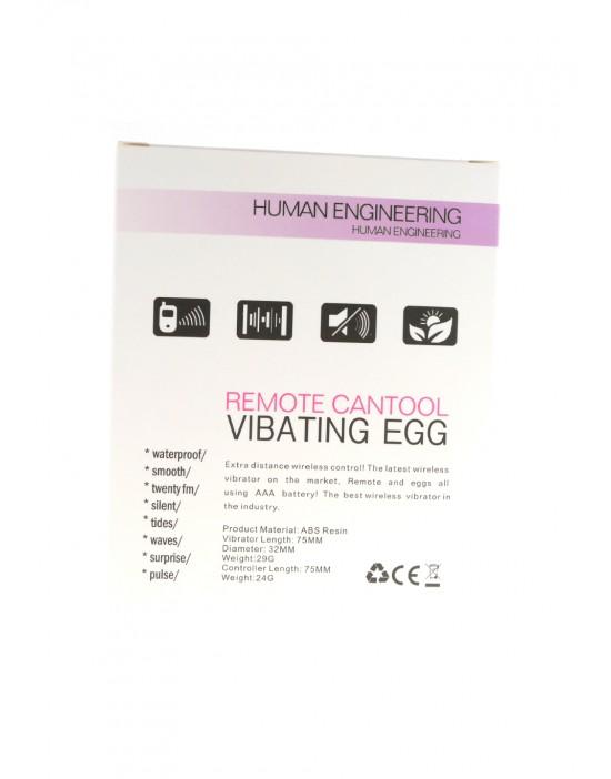 Vibrating Egg Autopilot Violet