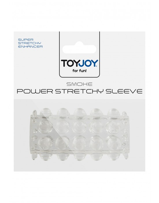 POWER STRETCHY SLEEVE CLEAR