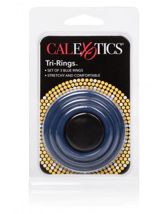 TRI-RINGS BLUE