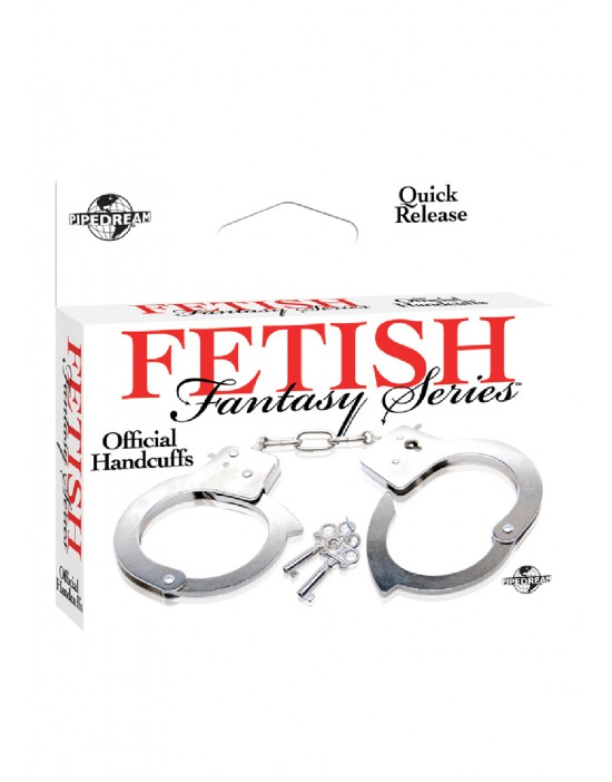 FF OFFICIAL HANDCUFFS METAL