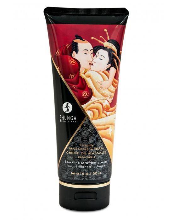 MASSAGE CREAM STRAWBERRY...