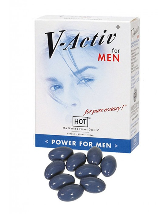 V-Activ Caps for Men- 20caps