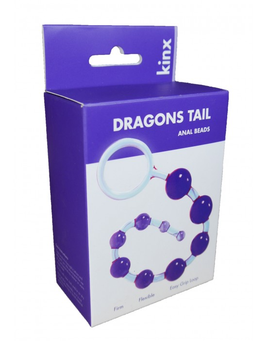 Dragonz Tail Anal Beads Kinx