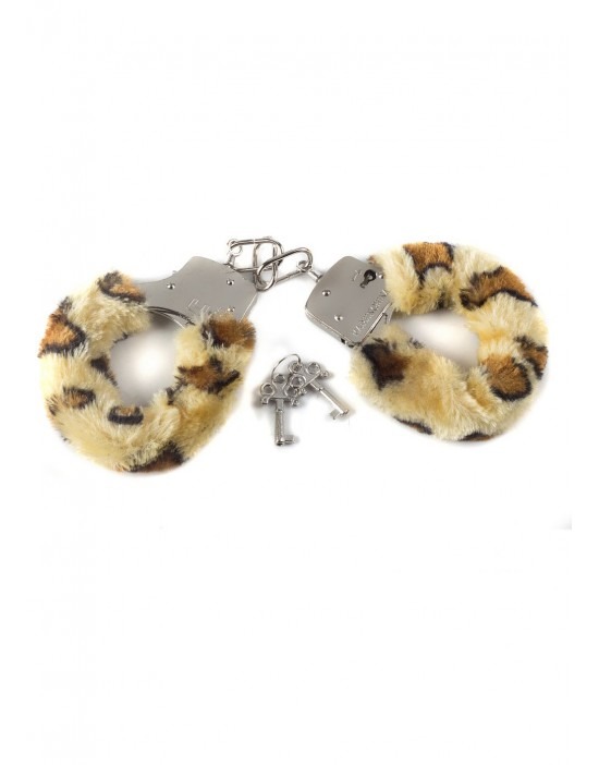 Wristcuffs with fur BONDAGE...