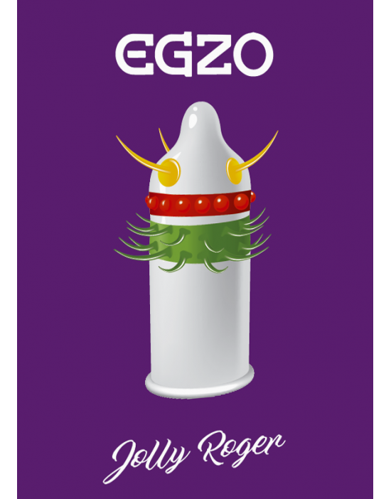 Condom Egzo Jolly Roger