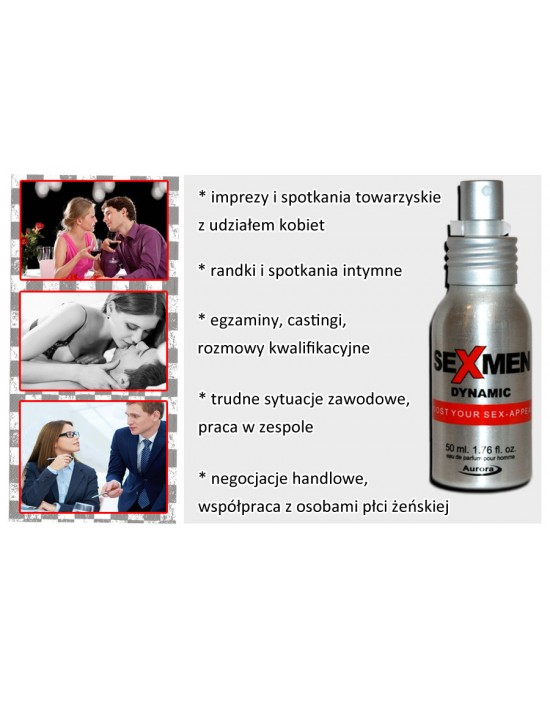 Sexmen Dynamic 50 ml for men