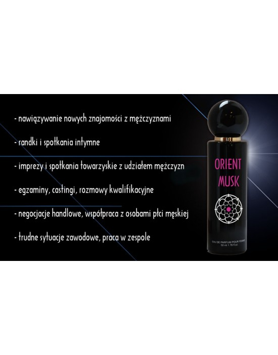 ORIENT MUSK 50 ml for women