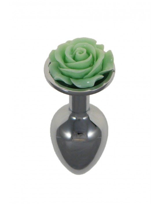 Metal Plug Rose Green