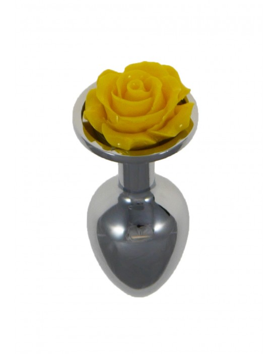 Metal Plug Rose Yellow
