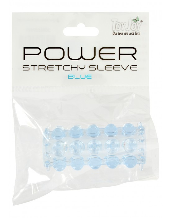 POWER STRETCHY SLEEVE BLUE