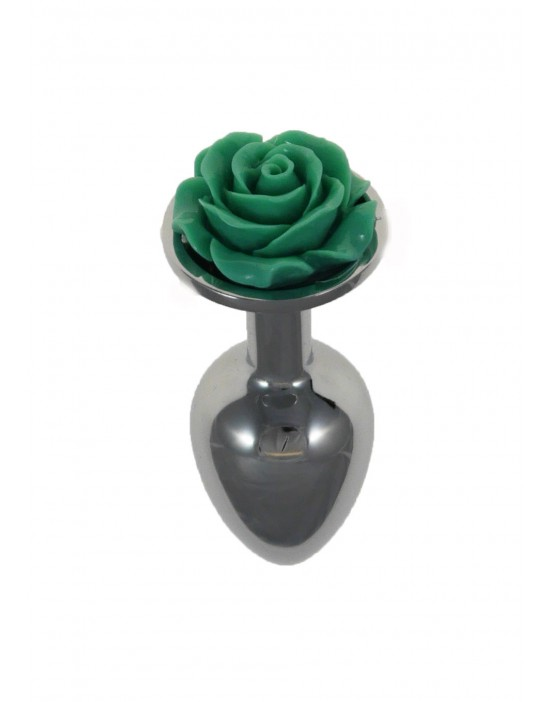 Metal Plug Rose Turquoise