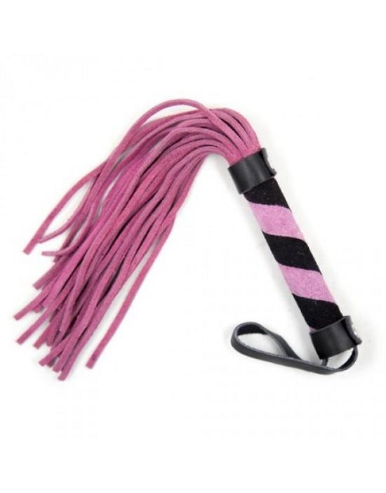 Frusta a frange Line Whip pink