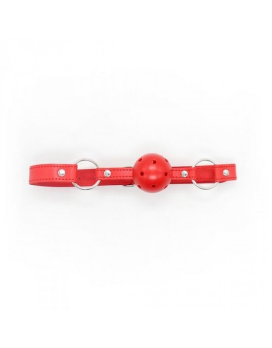 Breathable Ball Gag (rosso)