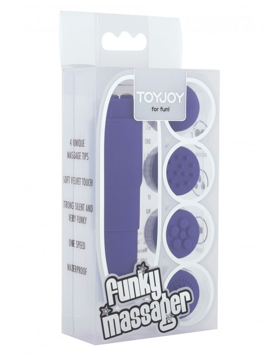 FUNKY MASSAGER PURPLE
