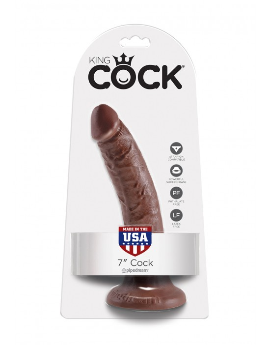 COCK 7 INCH BROWN
