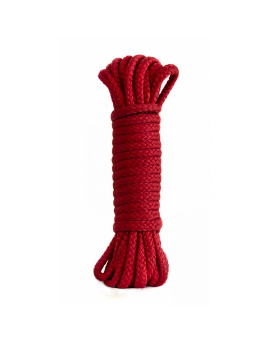 Rope Bondage Collection Red 3m