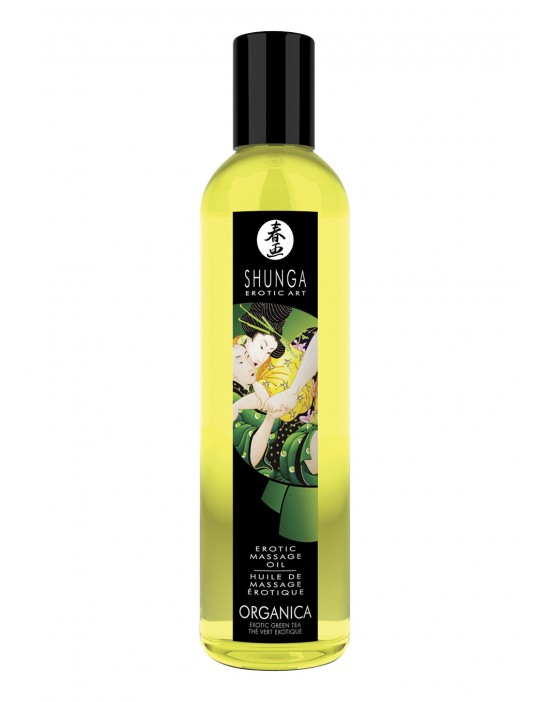 SHUNGA MASSAGE OIL GREEN...