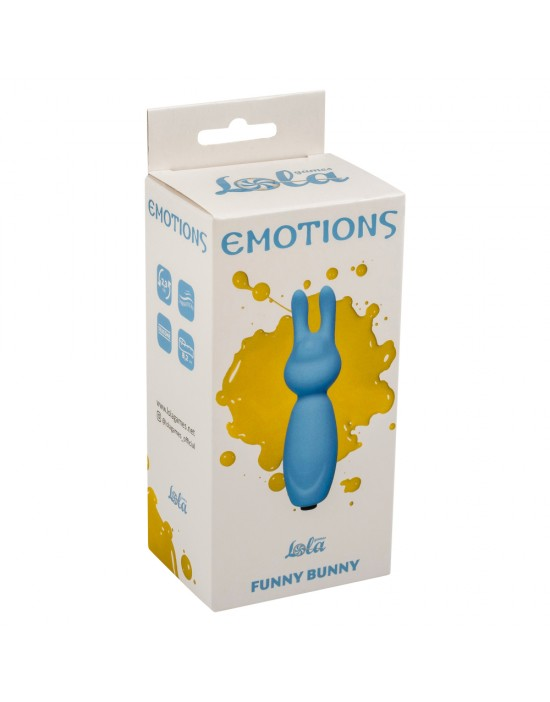 Emotions Funny Bunny Blue
