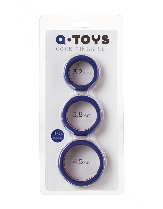 A-TOYS 768015 Cock rings set