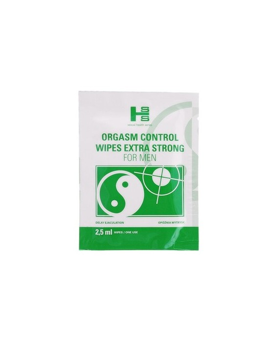 Orgasm Control Wipes 6szt.