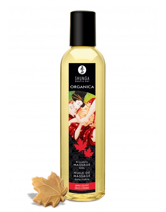 SHUNGA MASSAGE OIL MAPLE...