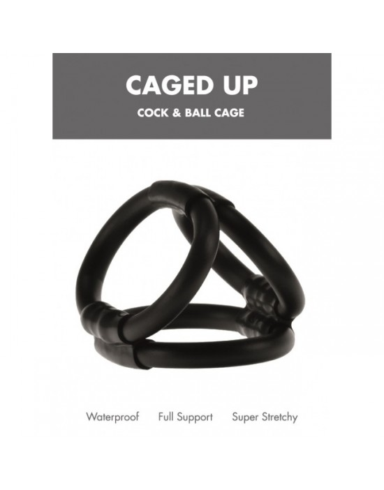 Caged Up Cock Cage Linx