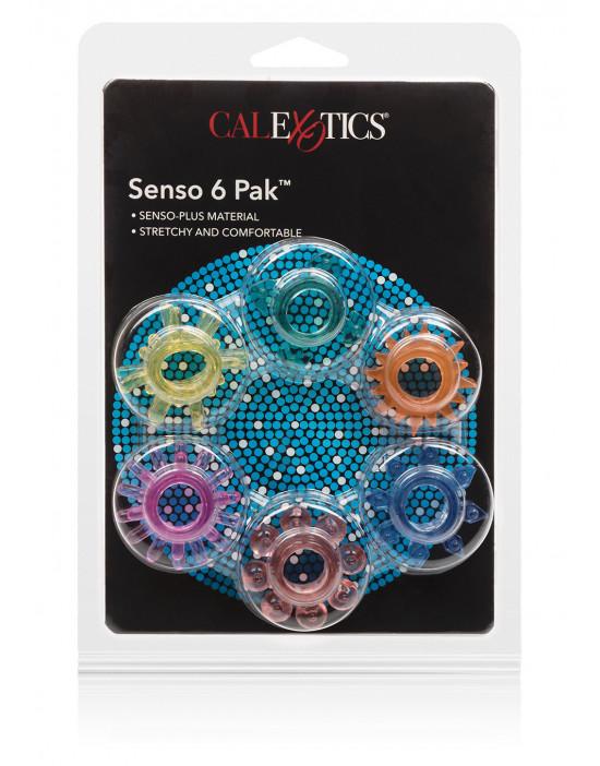 Pierścień-SENSO RINGS 6 PAK...