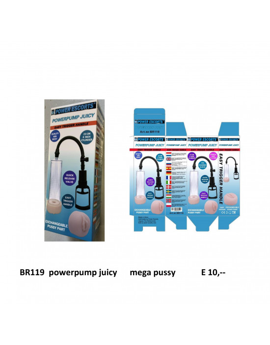 Pompka-POWERPUMP JUICY