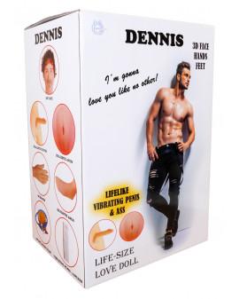 Lalka- DENNIS 3D - Vibrating