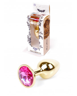 Plug-Jawellery Gold PLUG- Pink