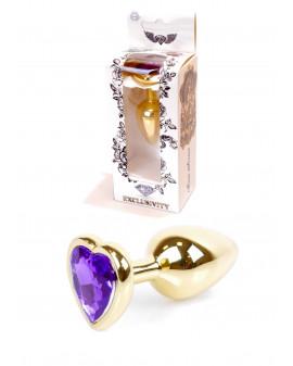 Plug-Jawellery Gold  Heart...