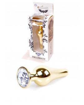 Plug-Jawellery Gold BUTT...