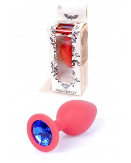Plug-Jawellery Red Silikon...