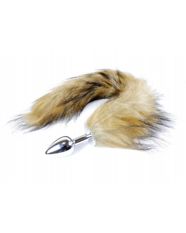 Plug-Fox TAIL- Brown XL