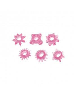 Kit di 6 anelli fallici...