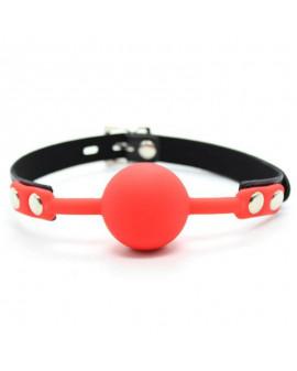 Ball Gag + Block (rosso)