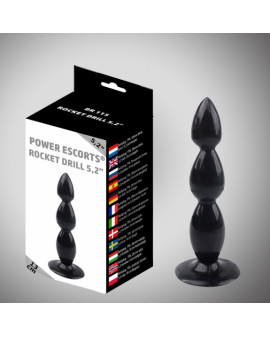 Rocket drill 5,2 inch black...