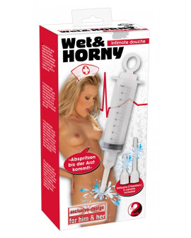 Anal/hig-Wet & Horny Douche