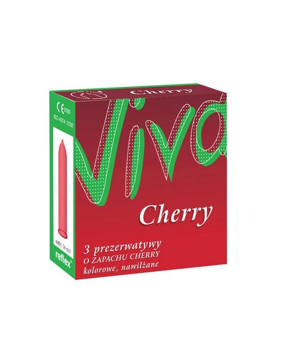 Prezerwatywy Viva Cherry