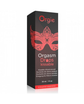 Żel-ORGASM DROPS KISSABLE -...